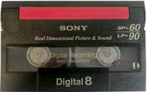 Digital8 tape