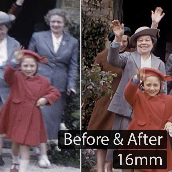16mm Before and After (2018)
