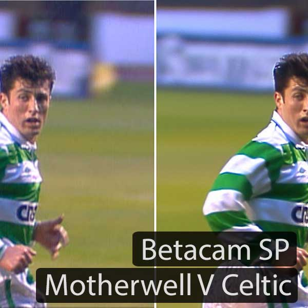 Betacam SP: Motherwell Vs Celtic 1991