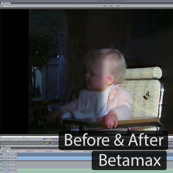 Betamax Before and After
