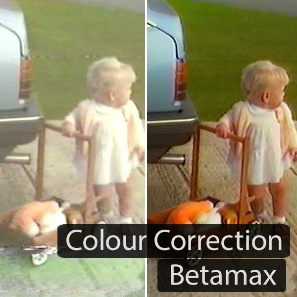 Betamax Colour Correction