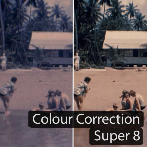 Colour Correction Super 8 Example 1 (2017)