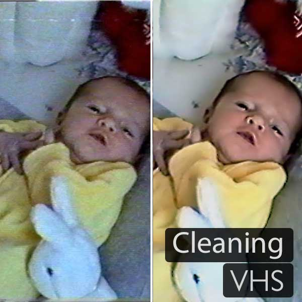 VHS Tape Cleaning